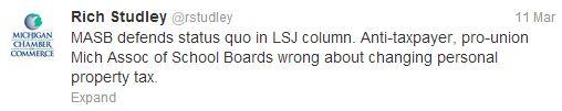 Studley tweet 24(2)