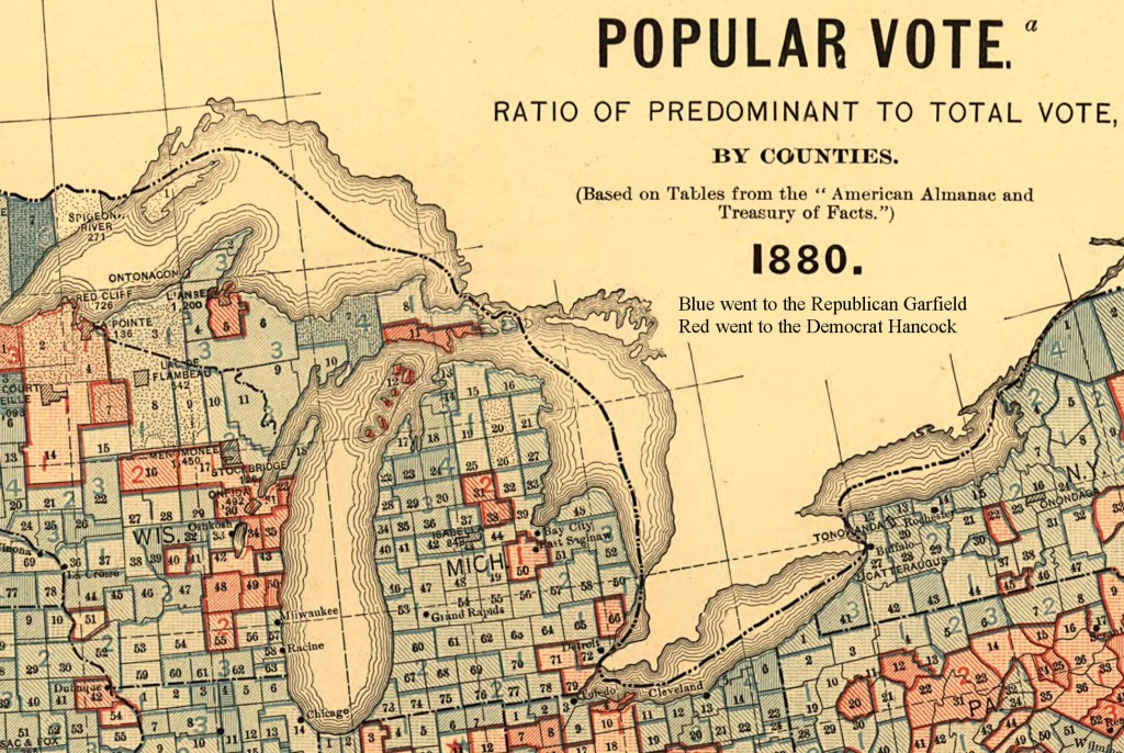Scribners1883Michiganmap